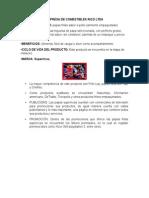 Aporte de La Empresa de Comestibles Rico Ltda