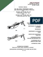 M60 Machine Gun Operator's Manual
