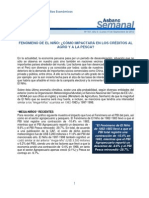 ASBANC | Fenómeno de El Niño
