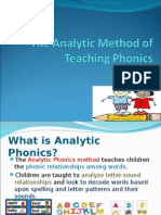 The Analytic Method of Teaching - Ryan.ppt