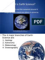 introduction to earth science plo a1