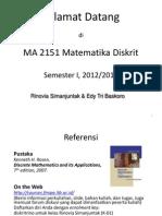 Matematika Diskrit - Logika