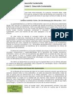 2.- Desarrollo Sustentable