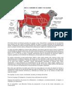 Aspectos Generales Sobre Consumo de Carne y Su Calidad