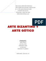 Arte Gotico - Bizantino