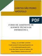 CURSO DE ASSISTENTE DE SUPORTE TÉCNICO DE INFORMÁTICA