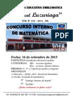 Concurso Interno de Matematica - Examen - Ok