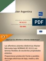 Alfombras Aislantes IEC 61111
