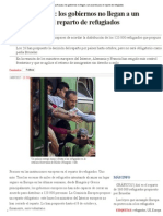 Europa Fracasa_ Los Gobiernos No Llegan a Un Acuerdo Para El Reparto de Refugiados