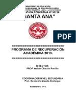 Proyecto de Recuperacion 2011