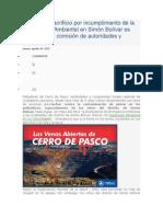 Sacrificio Por IncumSplimiento de La Emergencia Ambiental en Simón Bolívar Es Evaluada Por Comisión de Autoridades y Ciudadanía