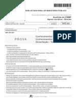 Fcc 2015 Cnmp Analista Do Cnmp Direito Prova