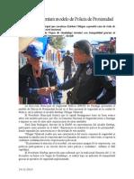 14.12.2014 Durango Presentará Modelo de Policía de Proximidad