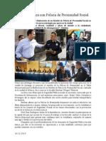16.12.2014 Durango Destaca Con Policía de Proximidad Social