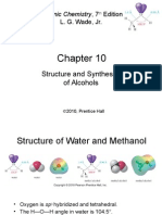 10 structure and synthesis of alcohols wade