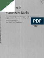 Uranium in Carbonate Rock