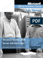 Exam 70-646_ Windows Server 200 - Microsoft Official Academic Cou