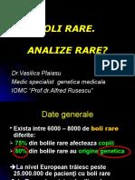 Pre Zen Tare Simpozion Boli Rare 26 Februarie , Bucuresti Dr.plaiasu Vasilica