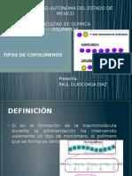 Tipos de Copolimeros