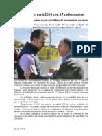 26.12.2014 Jardines Cerrará 2014 Con 14 Calles Nuevas