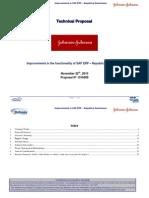 Stefanini Technical Proposal - Improvements ERP SAP