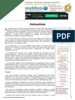 Autoestima - Desarrollo Personal - Helios Centro Holista - Astrología Holística y Desarrollo Personal