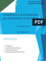 Aula 01 Controle e Automa de Processos