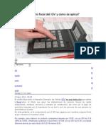 Qué Es El Crédito Fiscal Del IGV y Cómo Se Aplica