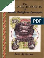 The Handbook Yoruba Religious Concepts