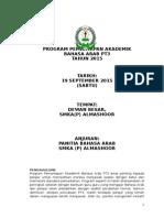 Kertas Kerja Program Pemantapan Pt3 Bahasa Arab 2015