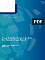 Value Chain Resilience Synthesis Report 2015