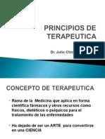 Principios de Terapeútica