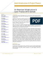 Latin America Golal Infrastructure&Project Finance 2010 Outlook