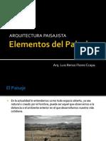 Componentes y Elementos Del Paisaje