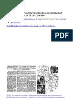 CIUDAD REPTILIANA SUBTERRANEA Descubierta en Los Angeles en 1934