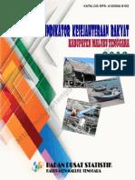 Indikator Kesejahteraan Rakyat Kabupaten Maluku Tenggara Tahun 2013