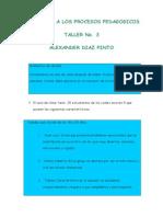Formación y Mejoramiento de Aprendizaje - Actividad 3