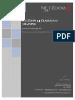 NZ14 Training Brochure