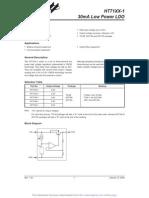 HT7133-1 Regulador de Voltaje