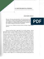 Letras coloniais e historiografia literária