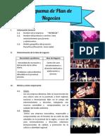 """Plan de Negocios de la Empresa """"In Focus"""""""