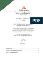 ATPS - Matemática Aplicada