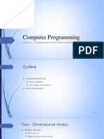 Computer Programming Lecture+3