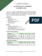 ATB PH32 LCDE Datasheet