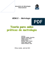 Apostila teoria - metrologia UFU
