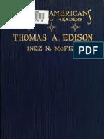 The Story of Thomas a. Edison (1922)