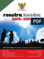 Renstra Kementerian ESDM 2015-2019