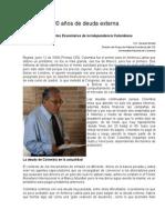 Colombia- 200 Años de Deuda Externa