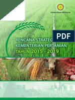 Renstra Kementerian Pertanian 2015-2019