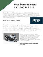 <h1>motos nuevas bmw en costa rica BMW K 1300 R 2.016</h1>